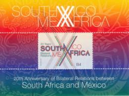 Relations Avec Le Mexique Bloc - Neufs