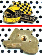 Arthus Bertrand : Sport Automobile : EURO MOTOR 1992 Casque Intégrale - Arthus Bertrand