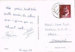 30398. Postal TORLA (Huesca) 1979. Fauna Zorro, Fox - 1931-Hoy: 2ª República - ... Juan Carlos I