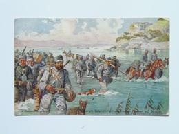 5141 Prima Guerra Pubblicitaria Pubblicita Militare 1915 Offizielle Karte Fur Rotes Kreuz Croce Rossa Nr 524 - Weltkrieg 1914-18