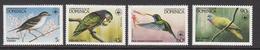 1984 Dominica WWF Local Birds Set Of 4 MNH - Ongebruikt