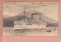 OLD POSTCARD - SHIPPING -     S.S. MELCHIOR TREUB - KONINKLIJKE PAKETVAART MAATSCHAPPIJ - Paquebots