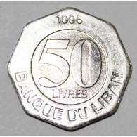 LIBAN - KM 37 - 50 LIVRES 1996 - FDC - Lebanon