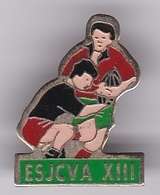 Pin's RUGBY XIII ESJCVA - Rugby