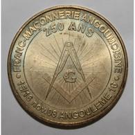 16 - ANGOULEME - 250 ANS DE LA FRANC-MAÇONNERIE - MDP - 2008 - - Monnaie De Paris