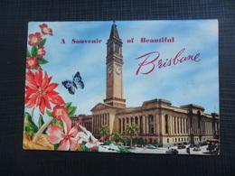 A SOUVENIR OF BEAUTIFULL BRISBANE, BOOKLET, 12 PHOTO - Brisbane