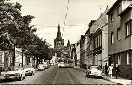 RATINGEN, Düsseldorfer Strasse, VW Beetle, Strassenbahn (1960s) AK - Mettmann