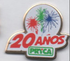 Pryca Feu D'artifice - Badges