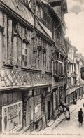 LISIEUX-LE MANOIR DE LA SALAMANDRE,RUE AUX FEVES-NON  VIAGGIATA- - Lisieux