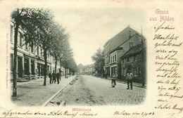 HILDEN, Kreis Mettmann, Mittelstrasse (1903) AK - Hilden