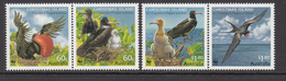 2010 Christmas Island WWF Frigate Birds Souvenir Sheet Of 4 MNH - W.W.F.
