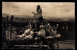 Lanark, Lanimer Day 1913, Nymphes De La Mer, Carte Postale CARTE PHOTO (Écosse) - Lanarkshire / Glasgow
