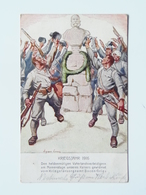 5155 Prima Guerra Pubblicitaria Pubblicita Militare 1915 Offizielle Karte Fur Rotes Kreuz Croce Rossa Nr 568 Bozen - Guerra 1914-18