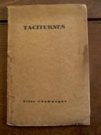 Oud Boek Met Gedichten En Handtekening Van De Schrijfster  ELISE CHAMPAGNE 1927 - Livres Dédicacés