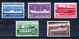 Pays Bas  / Série  N 666 à 670 / NEUFS Ave Charnière - Period 1949-1980 (Juliana)