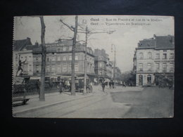 GAND - GENT - Vlaanderenstraat - Graaf Vab Vlaanderenplein - Hotel De La Paix - Gent