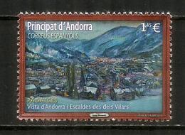 Vues D'Andorre & Escaldes,  Timbre Neuf ** Année 2018 - French Andorra