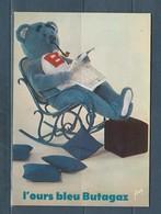 Carte Moderne  Pub L' Ours Bleu Butagaz - Pubblicitari