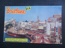 A SOUVENIR OF BRISBANE, BOOKLET, 12 PHOTO - Brisbane