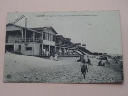 MIMIZAN Au Pied De La Dune, Devant Le Nouvel Etablissement De Bains ( Bernède ) Anno 1908 ( Zie/voir Photo ) ! - Mimizan Plage