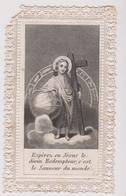 Image Religieuse Canivet Esperez En Jesus  Le Divin Maison Basset Paris Ecris  1869 - Imágenes Religiosas