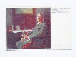 5163 Prima Guerra Pubblicitaria Pubblicita Militare 1915 Offizielle Karte Fur Rotes Kreuz Croce Rossa Nr 609 Krakau - Weltkrieg 1914-18