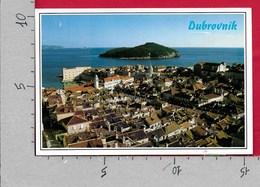 CARTOLINA VG JUGOSLAVIA - DUBROVNIK - Panorama - 10 X 15 - ANN. 1990 - Jugoslavia