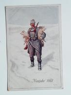 5168 Prima Guerra Pubblicitaria Pubblicita Militare 1915 Offizielle Karte Fur Rotes Kreuz Croce Rossa Nr Kfa Neujahr S 1 - Weltkrieg 1914-18