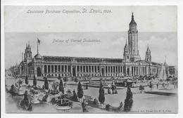 The Louisiana Purchase Exposition 1904 - Palace Of Varied Industries - Undivided Back - Exhibitions