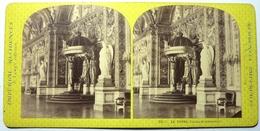 LE TRÔNE - PALAIS DU LUXEMBOURG - RÉSIDENCES IMPÉRIALES - Stereoscopic