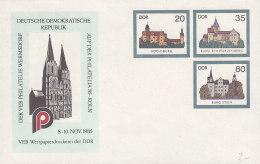 DDR U 2, Mit Privatzudruck PHILATELIA '85 Köln - [6] Oost-Duitsland