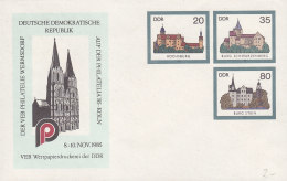 DDR U 2, Mit Privatzudruck PHILATELIA '85 Köln - [6] Repubblica Democratica
