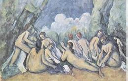 Paul Cezanne - Les Grandes Baigneuses - National Gallery London - Pittura & Quadri