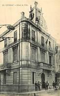 - Dpts Div.-ref-AE15- Gard - Quissac - Hotel De Ville - Carte Bon Etat - - Quissac
