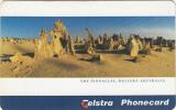 AUSTRALIA(chip) - The Pinnacles Western Australia, Exp.date 01/00, Used - Australia