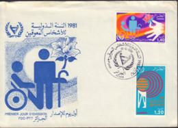 Ref. 452763 * NEW *  - ALGERIA . 1981. INTERNATIONAL YEAR OF DISABLED PERSONS. A�O INTERNACIONAL DE LOS MINUSVALIDOS - Argelia (1962-...)