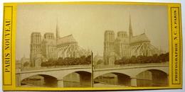 NOTRE DAME - PARIS NOUVEAU - Stereoscopic