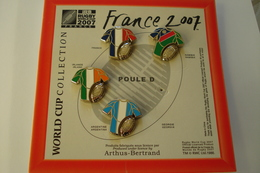20181107-2194  RUGBY COUPE DU MONDE 2007 MAILLOTS FRANCE-NAMIBIE-IRLANDE-ARGENTINE WORL CUP - Rugby