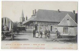 Cpa Bon Etat , Ohain, La Douane Française , Corps De Garde , Carte Tres Rare, Douaniers Premier Plan - Autres Communes