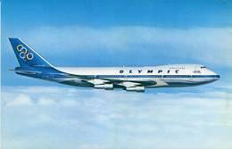 Lote PEP1050, Grecia, Postal, Postcard, Boeing 747-200B, Avion, Plane, Aircraft - Grecia