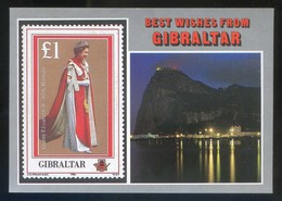 *Best Wishes From Gibraltar* Ed. Rock Photographic Service. Nueva. - Gibraltar