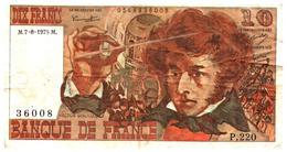 Billets > France >  10 Francs 1975 - 1962-1997 ''Francs''