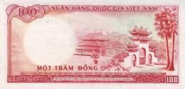 VIETNAM SOUTH P. 19b 100 D 1966 UNC - Viêt-Nam