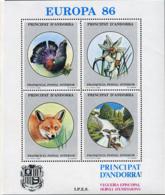 Ref. 211916 * NEW *  - ANDORRA. Vegueria . 1986. EUROPA 86. EUROPA 86 - Sellos