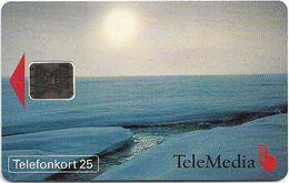 Sweden - Telia - Telemedia Icebergs Vinterhav  - SC5, 11.1993, 3.000ex, Mint (check Photos) - Sweden