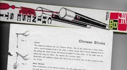 Chinese Sticks (prestidigitation) - Autres Collections
