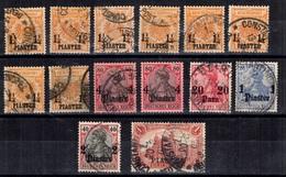 Levant Allemand Belle Petite  Collection D'anciens Oblitérés. Bonnes Valeurs. B/TB. A Saisir! - Offices: Turkish Empire