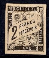 Colonies Générales Timbre Taxe YT N° 13 Neuf *. Gomme D'origine. B/TB. A Saisir! - Postage Due