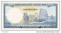 VIETNAM SOUTH P. 23a 500 D 1966 UNC - Vietnam