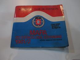 PORTUGAL ROADMAP - MAP - AUTOMÓVEL CLUB DE PORTUGAL - COM MAPA TURISTICO DO ALGARVE 1981 - Roadmaps